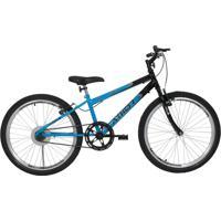 Bicicleta Aro 24 Mtb Sem Macha Legacy Azul Athor Bikes