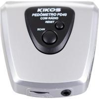Pedômetro Com Display Digital Em Lcd E Rádio Fm Pd40 Kikos