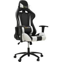 Cadeira Office Pro Gamer V2- Preta & Branca- 135X72Xrivatti