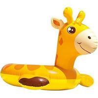 Boia Intex Com Cabeça Zôo Girafa Infantil - Unissex
