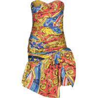 Moschino Vestido Tomara Que Caia - 1888 Multicoloured