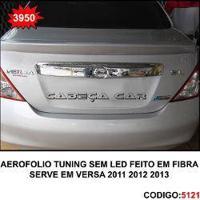 Aerofolio Tuning Versa 2011 2012 2013 Sem Led Feito Em Fibra