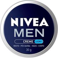 Hidratante Nivea Men Creme 4 Em 1 30G - Masculino-Incolor