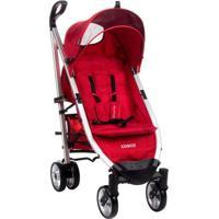 Carrinho De Bebê Umbrella Delux Plus Tabasco - Unissex-Vermelho