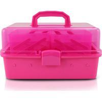 Caixa Organizadora Com Divisã³Rias Jacki Design Ahx17183 Pink - Pink - Feminino - Dafiti