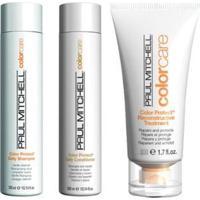 Kit Shampoo + Condicionador + Tratamento Paul Mitchell Color Protect - Unissex-Incolor