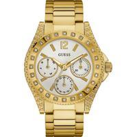 Relógio Guess Feminino Dourado- 92636Lpgsda2