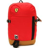 cbf2e44fd Mochila Puma Ferrari Sf Fanwear Vermelha
