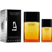 Kit Perfume Azzaro Pour Homme Masculino Eau De Toilette 100Ml + 30Ml