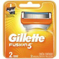 Carga Para Aparelho De Barbear Gillette Fusion 5 Com 2 Unidades 2 Unidades