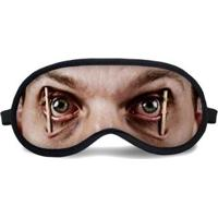 Máscara De Dormir Tritengo Olhos Abertos - Unissex-Bege+Rosa