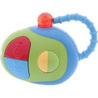 Brinquedo Dican Meu Primeiro Mouse Verde E Azul Multicolorido