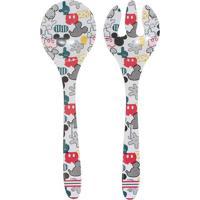 Pegadores Mickey House® - Branco & Vermelho - 2Pçs