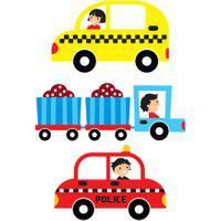 Kit Complementar Carros Na Cidade Carrinhos