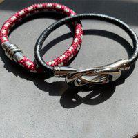 Kit Estilo Ráfia Bracelete Navy P E Bracelete Dublin P