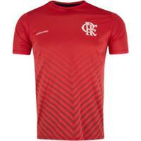 Camiseta Do Flamengo Bent 19 - Masculina - Vermelho
