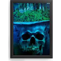 Quadro Decorativo Skull Sea