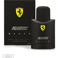 Perfume Black Ferrari Fragrances 40Ml