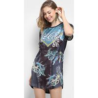 58fcea9ff4816 ... Vestido Coca-Cola Estapado Feminino - Feminino-Preto