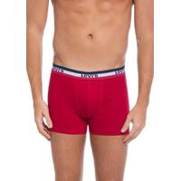 Cueca Levis ® Boxer Sportswear Vermelha