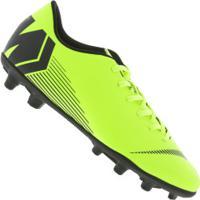 Chuteira De Campo Nike Mercurial Vapor 12 Club Mg - Adulto - Amarelo Fluor