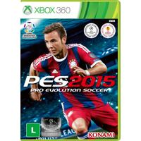 Jogo Pro Evolution Soccer 2015 (Pes 15) Para Xbox 360 (X360) - Konami