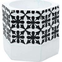 Vaso Decorativo Hexagonal Modelo 1 Multicores