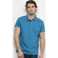Camisa Polo Fatal Lisa Masculina - Masculino-Azul Claro