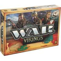 Jogo War Vikings Tabuleiro O Jogo Da Estratégia - Unissex-Laranja