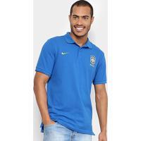 Camisa Polo Seleção Brasil 2018 Nike Masculina - Masculino