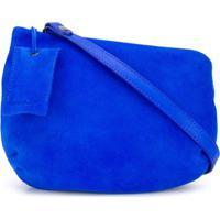 Marsèll Bolsa Transversal De Couro - Azul