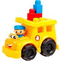 Mega Bloks - First Builders - Ônibus Escolar Sonny - Mattel - Unissex-Incolor