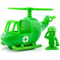 Toy Story 4 Mini Veículo Sargento E Helicóptero - Mattel