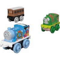 Mini Veículos - Thomas E Seus Amigos - Minis - Percy, Clarabell E Henry - Fisher-Price