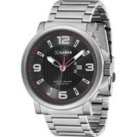 Relógio X-Games Masculino Xteel Prata Quartz Analógico - Xmss1045-P2Sx