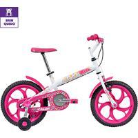 Bicicleta Infantil Aro 16 Caloi Ceci - Feminino