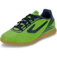 Chuteira Infantil Masculina Indoor Cup Topper - 42013468 Verde 30