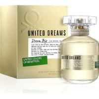 Perfume Feminino Dream Big Edition Benetton Eau De Toilette 50Ml - Feminino-Incolor