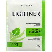 Cless Lightner Pó Descolorante Rápido - Menta E Aloe Vera 20G