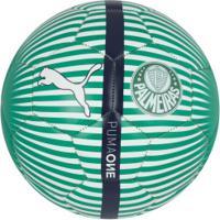 Bola De Futebol De Campo Do Palmeiras 2019 Puma - Verde/Branco