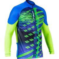 Camisa Ciclista C/ Zíper M/L Freeride - Masculino