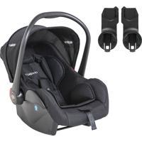 Bebê Conforto Casulo Click Melange Preto Para O Carro Helios
