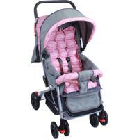 Carrinho De Bebê Berço E Passeio Sweet Baby Style Rosa