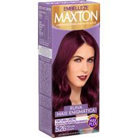 Tintura Em Creme Maxton Castanho Marsala Escuro 5.26
