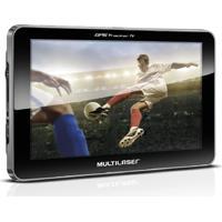 Gps Tracker Multilaser Gp038 7 Polegadas Com Tv Digital 2Gb Usb