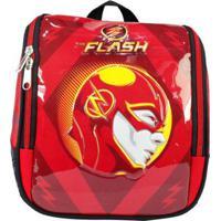 Lancheira The Flash - Masculino-Vermelho