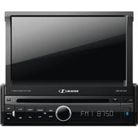 """Dvd Player Automotivo Hbd-9810Av Hbuster Com Tela Touch Retrátil De 7"""", Rádio Am/Fm, Entrada Câmera De Ré, Entrada Usb E Auxiliar + Controle Remoto"""