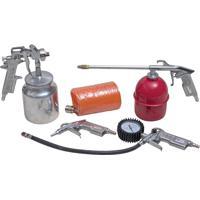 Kit De Acessórios Para Compressor De Ar 5 Peças Kajima