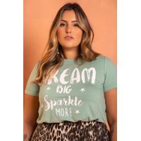 T-Shirt Dream Big Plus Size Domenica Solazzo