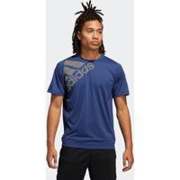 Camiseta Freelift Badge Of Sport Graphic Adidas - Masculino